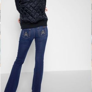 7 for all mankind b(air) denim flare jeans